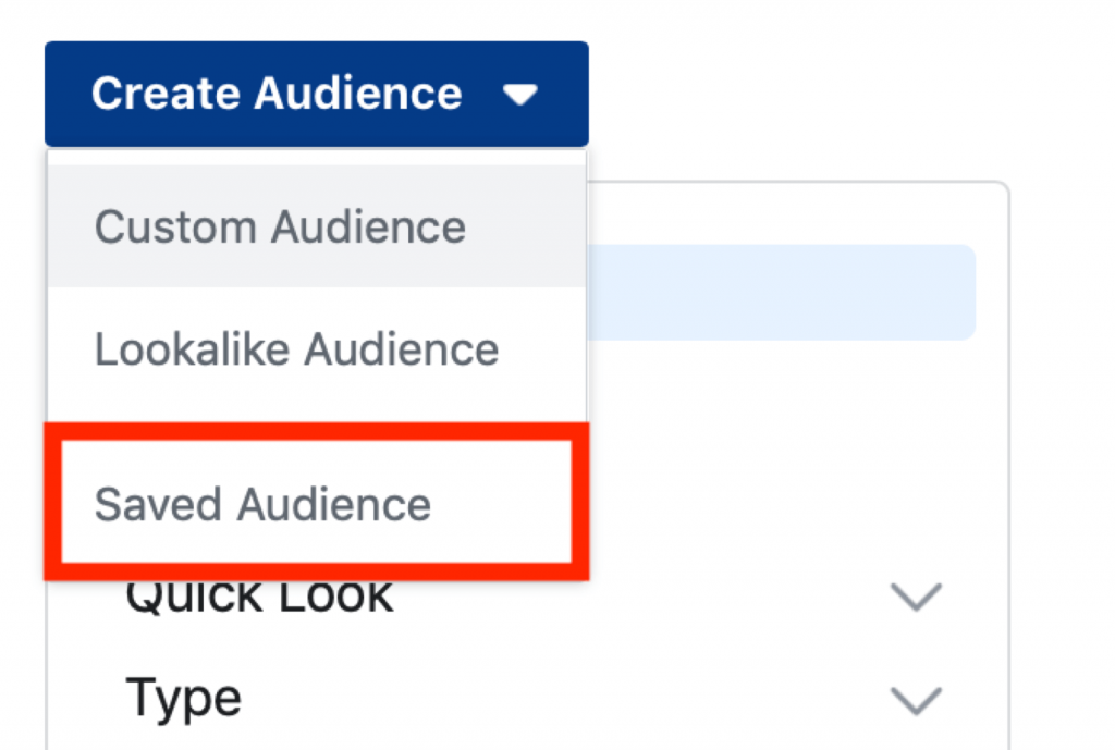 Create your specific audience for product