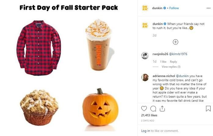 first day of fall starter pack
