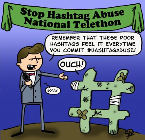 hashtag abuse