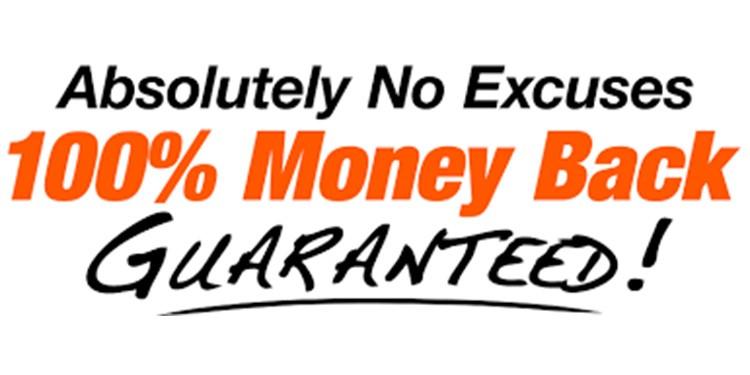 money back gurantee